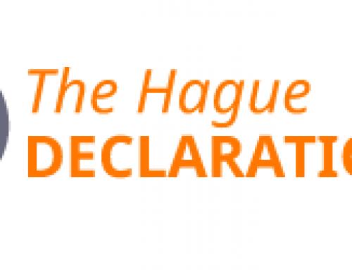 """Apei firma la  """"Declaración de La Haya"""""""