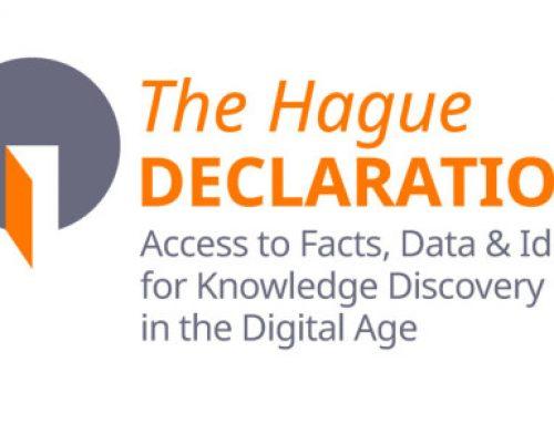 Declaración de La Haya sobre acceso abierto