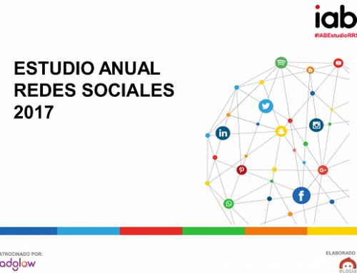 Estudio anual de redes sociales 2017