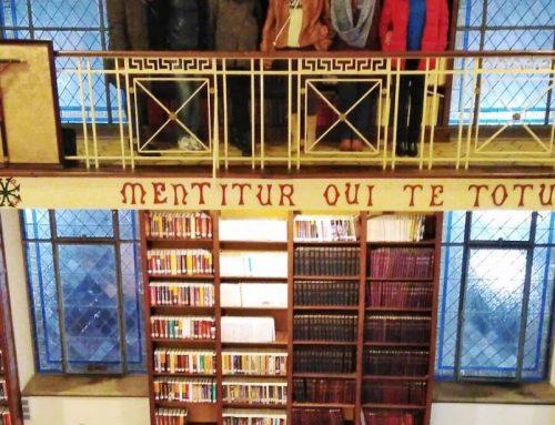 Visita a la Biblioteca del Seminario Metropolitano de Oviedo