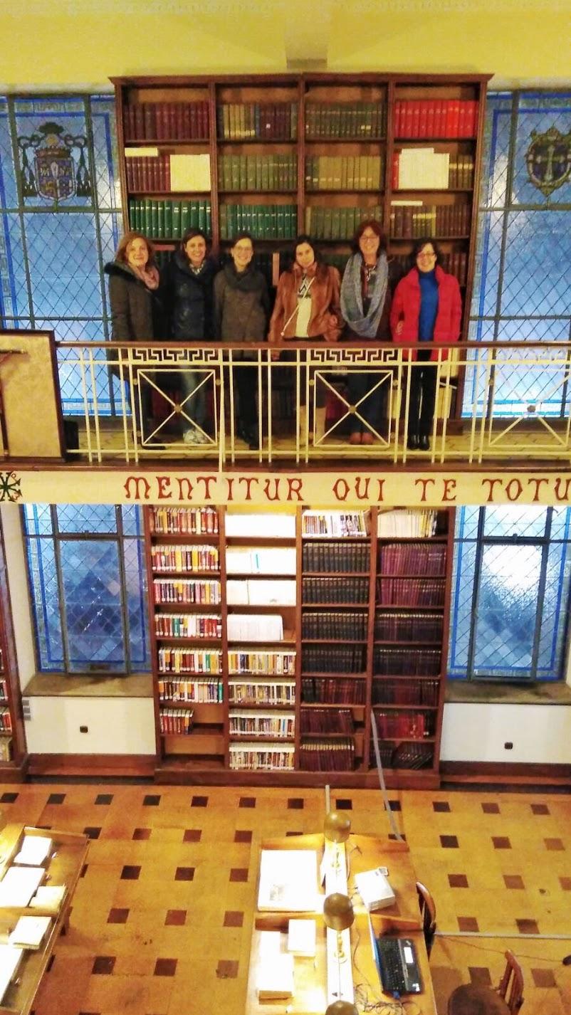 Visita Biblioteca Seminario