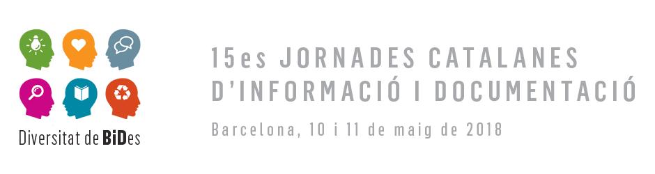 15ª Jornadas Catalanas de Información y Documentación